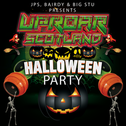 Uproar Scotland Halloween Party Tickets   The Classic Grand Glasgow    Fri 29th October 2021 Lineup