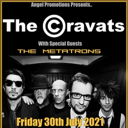 The Cravats with guests The Metatrons Tickets | Hobbit Southampton  | Fri 30th July 2021 Lineup