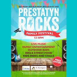 Prestatyn Rocks Tickets   Lower High Street Car Park Prestatyn LL19 9LG Prestatyn    Sat 28th August 2021 Lineup