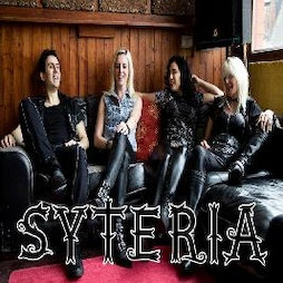SYTERIA- Jax Chambers (GIRLSCHOOL) with support Tickets | DreadnoughtRock Bathgate  | Fri 10th September 2021 Lineup