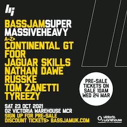 BassJam Manchester Tickets | O2 Victoria Warehouse Manchester  | Sat 23rd October 2021 Lineup