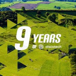 9 years of discotech w/ Archie Hamilton & Burnski Tickets   White Wells Farm Belper    Sat 31st July 2021 Lineup