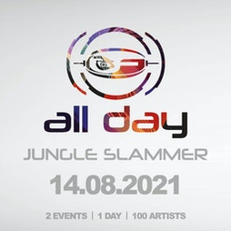 Formation All Day Jungle Slammer Tickets | 2 Funky Music Cafe Leicester  | Sat 14th August 2021 Lineup