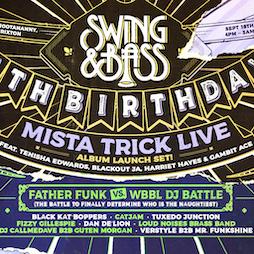 Swing & Bass 5th Birthday Tickets | Hootananny Brixton London  | Sat 18th September 2021 Lineup