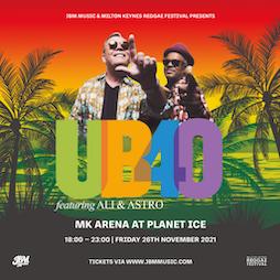 Milton Keynes Reggae Festival Presents: UB40 ft Ali & Astro | Skiddle