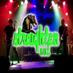 Straighten Out - Stranglers Tribute - Revised Date Tickets | DreadnoughtRock Bathgate  | Fri 3rd December 2021 Lineup