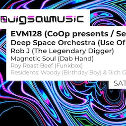 Jigsaw Ft. EVM128,Deep Space Orchestra,Rob J + More - Free Entry Tickets | HWK  THE LOT LONDON  | Sat 16th October 2021 Lineup