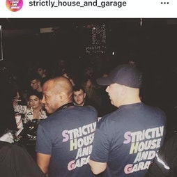 Strictly House And Garage 17th September >>> The Harley Return Tickets | The Harley Sheffield  | Fri 17th September 2021 Lineup