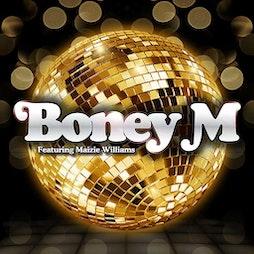 BONEY M. featuring Maizie Williams + Support & aftershow Disco  Tickets | Riva Showbar Preston Preston  | Fri 15th October 2021 Lineup