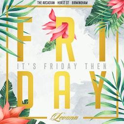 Reviews: Levana Fridays #5   Levana Bar Birmingham    Fri 14th May 2021