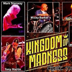 Kingdom of Madness: Classic Magnum Tickets | Hard Rock Cafe Glasgow  | Fri 12th March 2021 Lineup