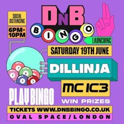 DNB Bingo Tickets | Oval Space London  | Sat 19th June 2021 Lineup