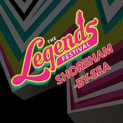 The Legends Festival - Shoreham-By-Sea Tickets   Adur Recreational Ground Shoreham By Sea    Sat 3rd July 2021 Lineup