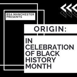 Origin: In celebration of Black History Month  Tickets   Night And Day Cafe Manchester    Tue 19th October 2021 Lineup