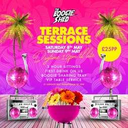Outdoor Terrace Sessions Tickets | The Boogie Shed Birmingham  | Sat 15th May 2021 Lineup