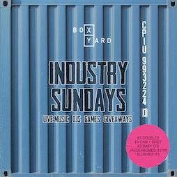 Industry Sundays Tickets   Box Yard Liverpool    Sun 13th June 2021 Lineup