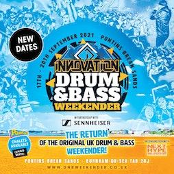 Drum & Bass Weekender 2021 Tickets   Pontins Brean Sands Burnham On Sea    Fri 4th March 2022 Lineup