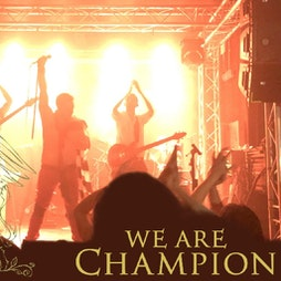 """Freddie's 75th Birthday """"We are champion"""" playing live Tickets 