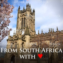 Venue: From South Africa with Love | Manchester Cathedral Manchester  | Fri 11th February 2022