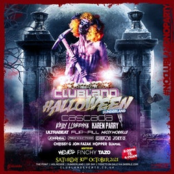 Clubland Live Sunderland Tickets   The Point Sunderland    Sat 30th October 2021 Lineup