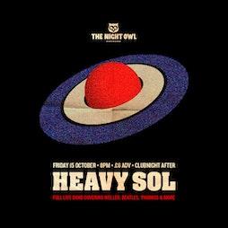 Heavy Sol (Live) | The Night Owl Birmingham  | Fri 15th October 2021 Lineup