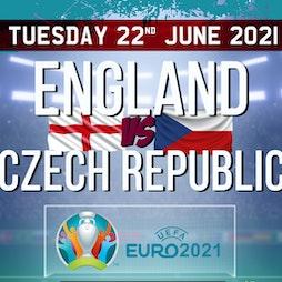 EURO 2020: England v Czech Republic - Doors 7PM. KO 8PM Tickets | The Source Maidstone  | Tue 22nd June 2021 Lineup