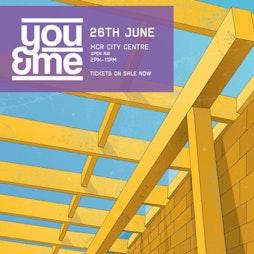 You&Me Open Air - THE PROGRESS CENTRE - M12 6HS Tickets | Manchester Open Air Manchester  | Fri 23rd July 2021 Lineup