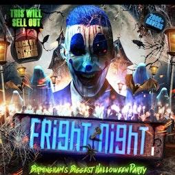 Fright Night Birmingham Biggest Halloween 🎃 Party  Tickets | Secret Location Birmingham  Birmingham  | Wed 27th October 2021 Lineup