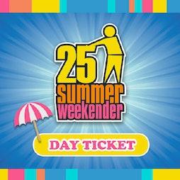 The Tidy 25 Weekender Tickets | Pontins Prestatyn  | Fri 8th July 2022 Lineup