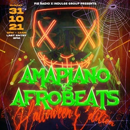 Venue: Amapiano v Afrobeats (Halloween Party) | Bowlers Exhibition Centre Manchester  | Sun 31st October 2021