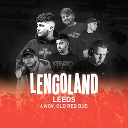 Lengoland Leeds Tickets | The Old Red Bus Station Leeds  | Thu 4th November 2021 Lineup