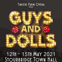 GUYS AND DOLLS   Stourbridge Town Hall Stourbridge    Wed 12th May 2021 Lineup