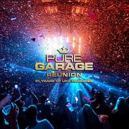 Venue: Dance Generation pres Pure Garage 2021 | Rainton Arena Houghton-le-Spring  | Fri 29th October 2021