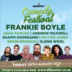 Venue: EssexFest 2021 | Maldon Promenade Park Maldon  | Fri 20th August 2021