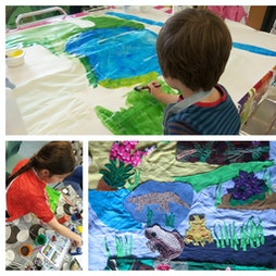 Reviews: Drop-in Arts & Crafts Mapestry with Froglife | Muiravonside Country Park Falkirk  | Sun 4th July 2021