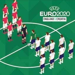 Euros 2020 Live Screening - England v Croatia  Tickets | Hotel Football Old Trafford Manchester  | Sun 13th June 2021 Lineup