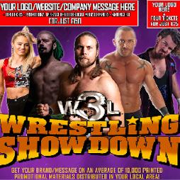 W3L Wrestling Showdown - Glenrothes | Rothes Halls Glenrothes  | Fri 3rd September 2021 Lineup