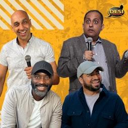 Desi Central Comedy Show - Wolverhampton Tickets | Bilston Town Hall Bilston  | Fri 15th October 2021 Lineup