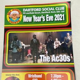The ac30s and olas boss Tickets | Dartford Social Club Dartford  | Fri 31st December 2021 NYE Lineup