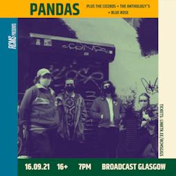PANDAS + CONCRETE NATIONAL + THE CICEROS  + BLUE ROSE Tickets | Broadcast Glasgow  | Thu 16th September 2021 Lineup
