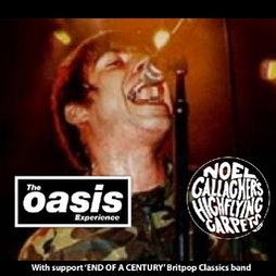 The Oasis Experience Tickets   The Classic Grand Glasgow    Sat 23rd October 2021 Lineup
