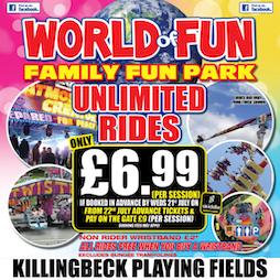 Venue: World Of Fun - Family Fun Park | Killingbeck Fields Leeds. Leeds  | Sat 24th July 2021