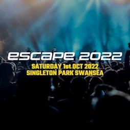 Escape 2022 Tickets | Singleton Park Swansea  | Sat 1st October 2022 Lineup