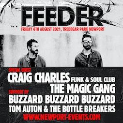 Feeder + Craig Charles Live at Tredegar Park Tickets | Tredegar Park Newport  | Fri 6th August 2021 Lineup