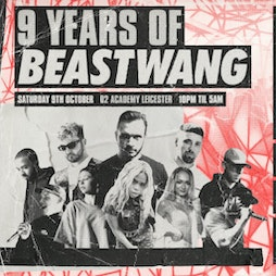 Beastwang w/ Andy C, Clipz, Kanine, Simula, Gray, Ben Snow Tickets | O2 Academy Leicester  | Sat 9th October 2021 Lineup