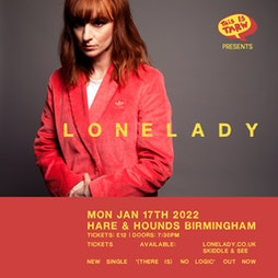 Lonelady Tickets | Hare And Hounds Birmingham  | Mon 17th January 2022 Lineup