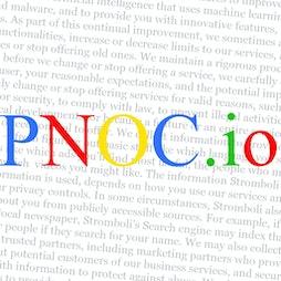 PNOC.io   Virtual Event Online    Fri 23rd July 2021 Lineup