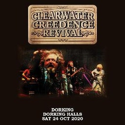 Clearwater Credence Revival Tickets | Dorking Halls Dorking  | Thu 18th November 2021 Lineup