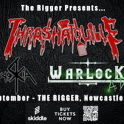 Venue: Thrashatouille with WarlocK A.D. and Mercia | The Rigger Rock Venue Newcastle-Under-Lyme  | Fri 24th September 2021