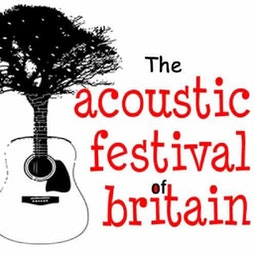 Venue: The Acoustic Festival of Britain | Uttoxeter Racecourse Uttoxeter  | Fri 21st May 2021